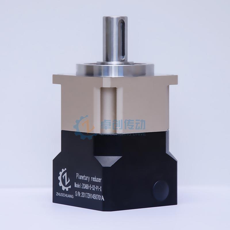 供应激光焊锡机专用卓创ZCA60斜齿精密行星减速机厂家直销