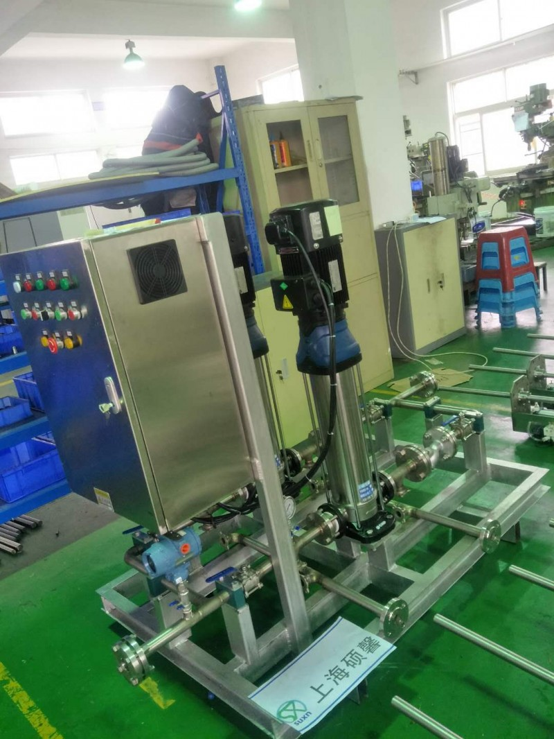 上海硕馨锅炉脱硝系统模块