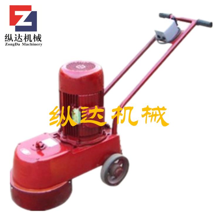 手持式地面水磨石机价格  电动路面水磨石机