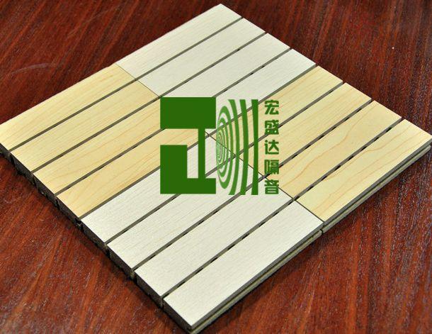 木质吸音板 会议室装饰吸音板 影视厅吸音 琴房吸音板