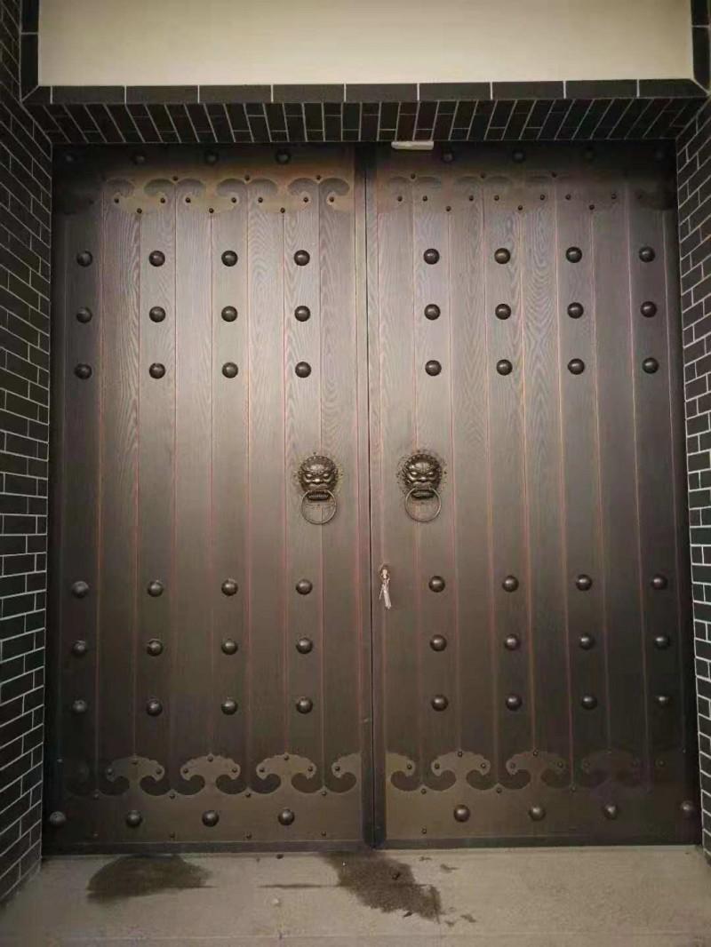 石家庄铜门  售楼部铜门  铜门厂家  转转门控