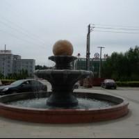 喷泉水景风水球