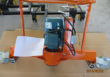 厂家优质电动仿形轨道打磨机结构简单 方便使用