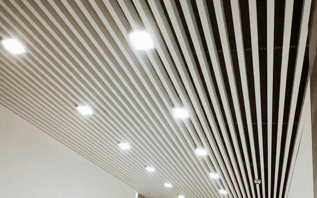 山东济宁展厅专用高分子铝方通吊顶销售厂家