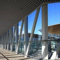 新疆巴音郭勒机场专用U型铝方通吊顶生产厂家