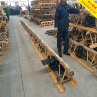 6米混凝土整平机  7米框架式振动梁  8米震动梁价格