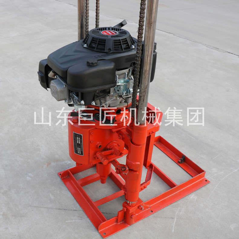巨匠集团直供声测孔疏通岩芯钻探机30米钻孔勘探钻机