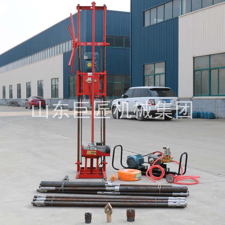 巨匠集团直供卷扬版声测孔疏通工程勘探钻机 省时省力