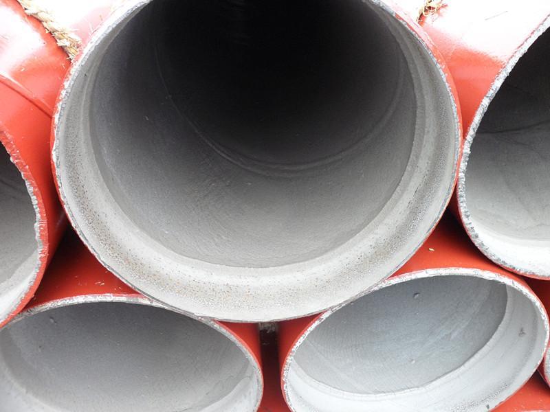 出口水泥砂浆内衬螺旋钢管