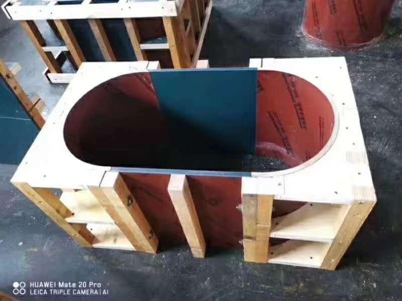 木制圆柱子模板