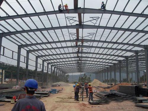 济宁东方钢结构工程公司-济宁钢结构加工厂-济宁钢结构设计安装