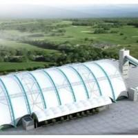 专业设计  制造 安装大跨度膜结构储煤棚、大跨度膜结构干煤棚