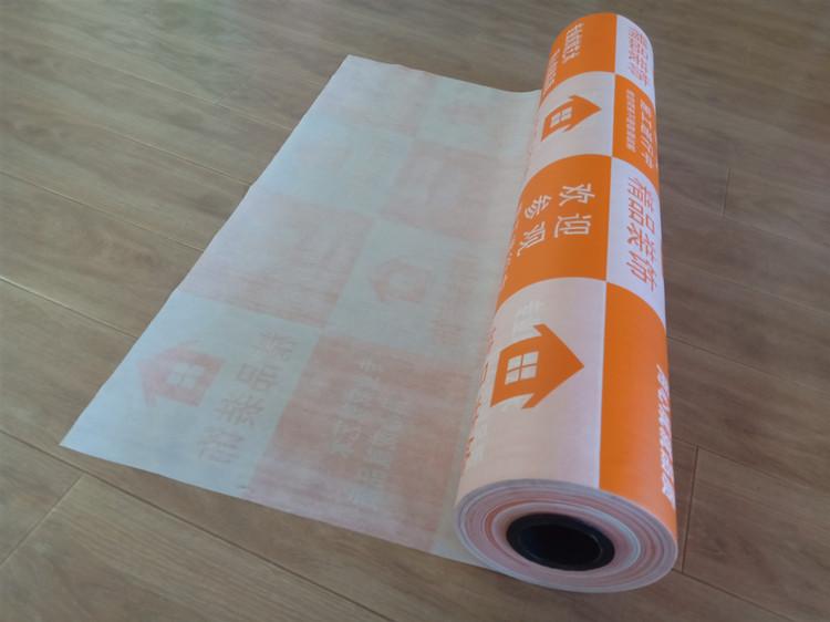 装修地面保护膜地砖防护家装地板地膜加厚针织棉耐磨室内瓷砖地垫