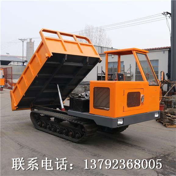 履带运输车 驱动轮小型农用爬坡爬山虎工地底盘可装随车吊