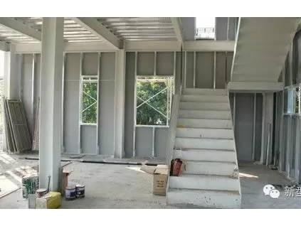 环保材料轻质隔墙板做的钢结构工程 你值得拥有