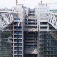 广东胜启达钢结构连廊设计_连廊钢结构厂房_连廊钢结构工程