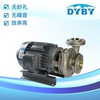 不锈钢单级卧式离心泵 东元不锈钢泵 使用寿命长