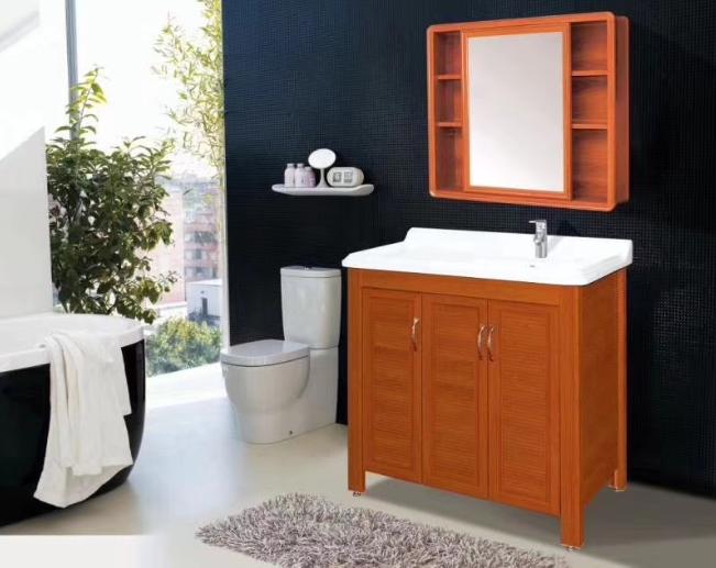 奥晶AOJ铝合金浴室柜全铝浴室吊柜浴盆洗漱台盆定制