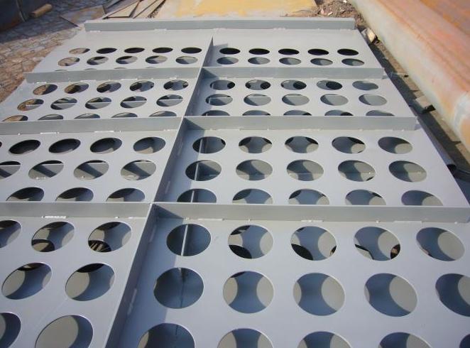 除尘器花板  多孔板  异形花板尺寸定制
