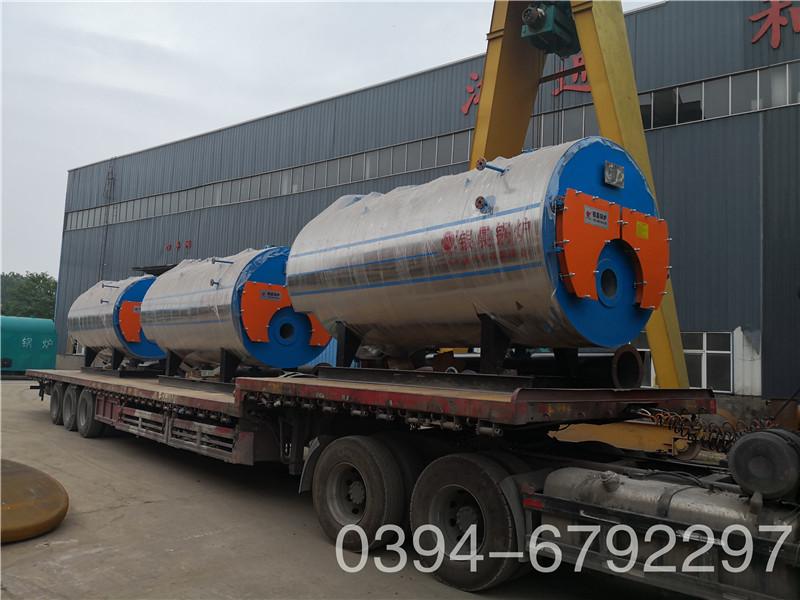 贵州CWNS0.7型燃油气热水锅炉便宜河南银晨锅炉集团有限公