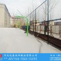 室内室外墨绿色篮球场防护网安装施工厂家迅鼎护栏