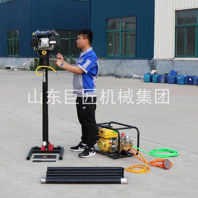 巨匠集团提供BXZ-2L便携式岩心钻机浅层取样背包钻机