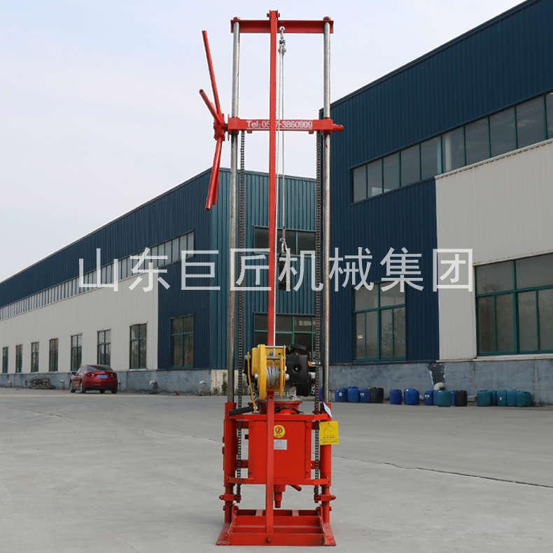 巨匠集团提供QZ-2CS型轻便勘探钻机岩心取心钻机重量轻