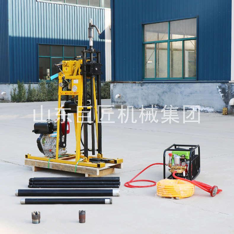 巨匠集团提供YQZ-50A型全液压轻便钻机便携式浅层取样钻机