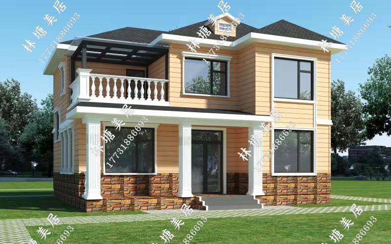河北保定林塘美居轻钢别墅 造型多样完工快