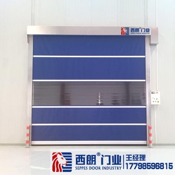 扬州商场通道用PVC快速卷帘门