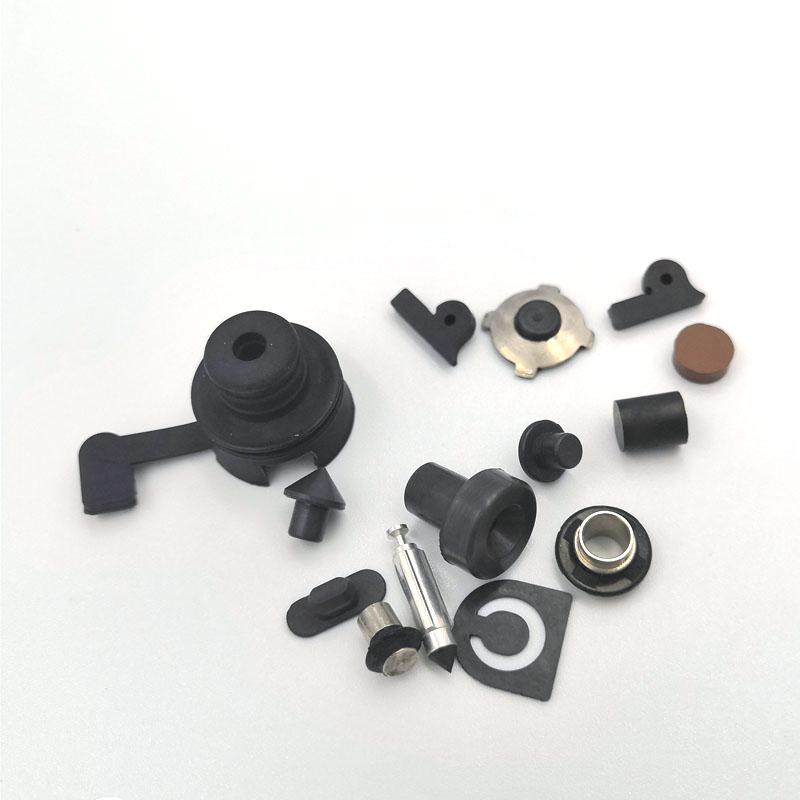 厂家直供橡胶金属包胶件 金属粘接件