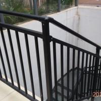 厂家直销锌钢栏杆扶手家用防护栏 别墅栏杆室外欧式护栏镀锌护栏