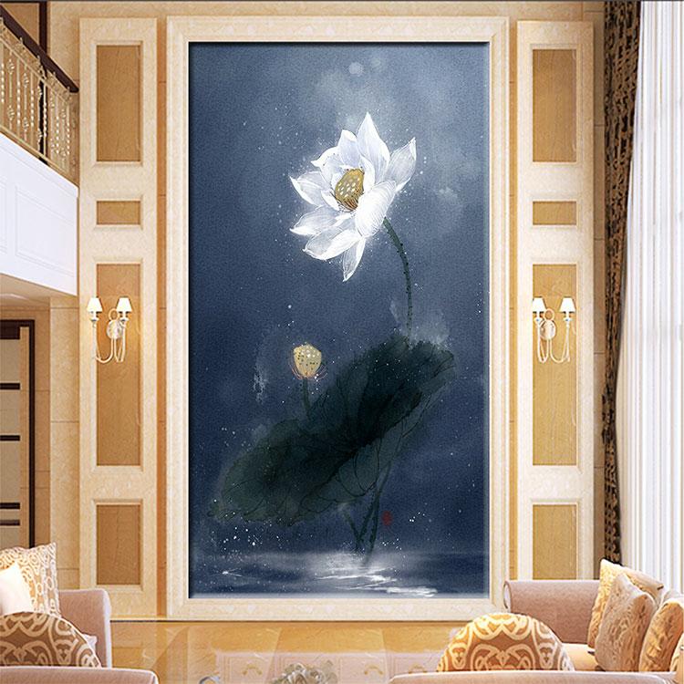 3D电视卧室沙发背景墙个性定制壁画福建千彩装饰画