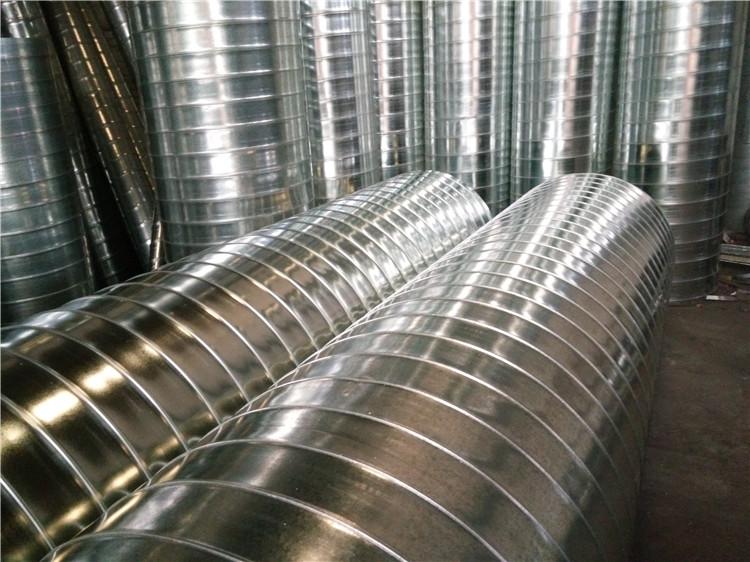 除尘管道 通风管道罩子  方形圆形管道  直径尺寸厚度均可