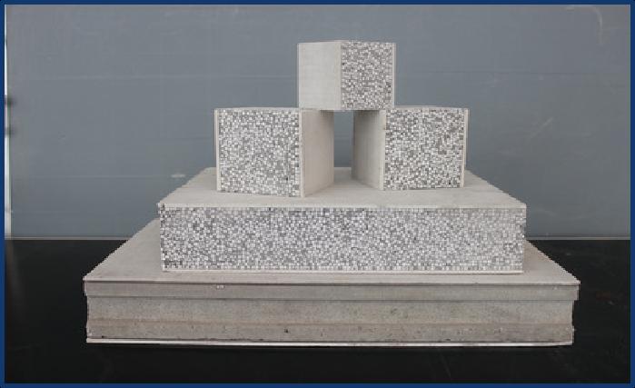 轻质隔墙板新型发泡水泥复合预制实心墙板  75#