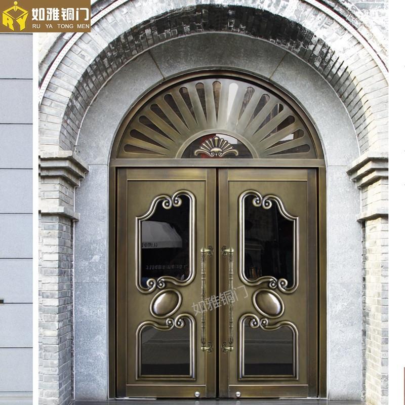 子母铜门,上海子母铜门,公寓子母铜门价格