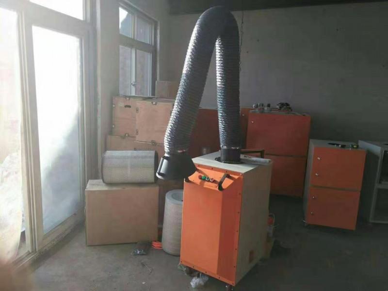 移动式旱烟净化器 单臂双臂 打磨烟气粉尘吸附 壁挂式集气臂