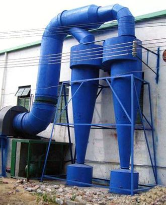 预处理旋风设备除尘器 小型旋风除尘器 风量计算