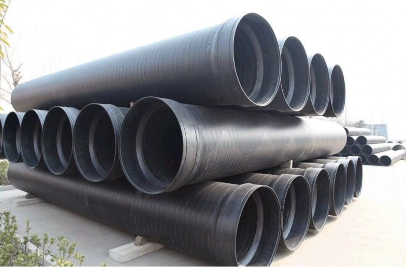 江西厂家供应HDPE中空壁缠绕增强A型管
