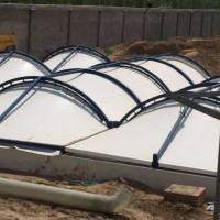 污水池加盖膜结构专业厂家-废水池沼气池膜结构加盖密封工程