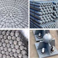 山东青岛网架工程公司-青岛网架加工厂-青岛螺栓球网架公司