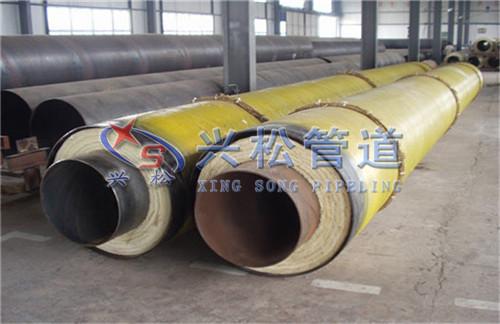 济南钢套钢直埋保温管预制厂家