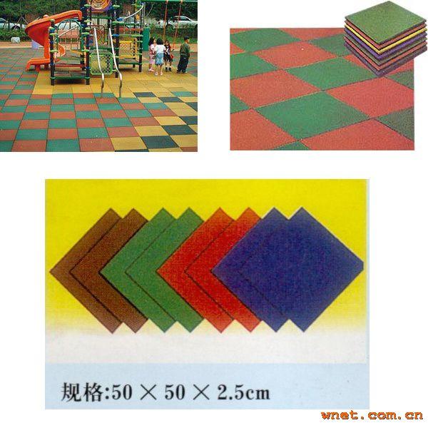 室外橡胶地板