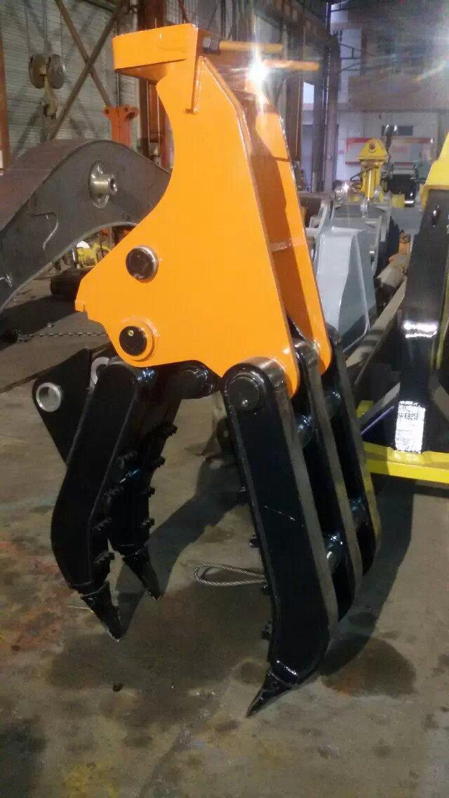 供应汇通LTT钩机抓木器 挖机抓木器 抓木器