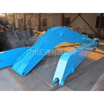 供应供应神钢SK270挖机大小臂 挖河泥23米加长臂 河道清淤臂