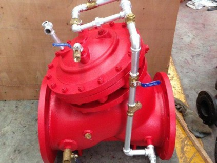 DY609X型水控式雨淋报警阀