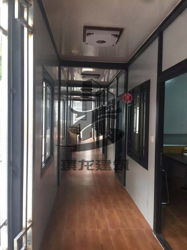 住人集装箱房屋3*7.5*3标准箱房琪龙生产厂家钢结构活动房
