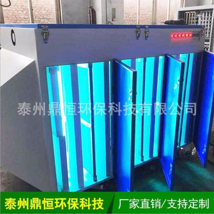 光氧催化不锈钢废气处理设备 泰州鼎恒环保 厂家直供