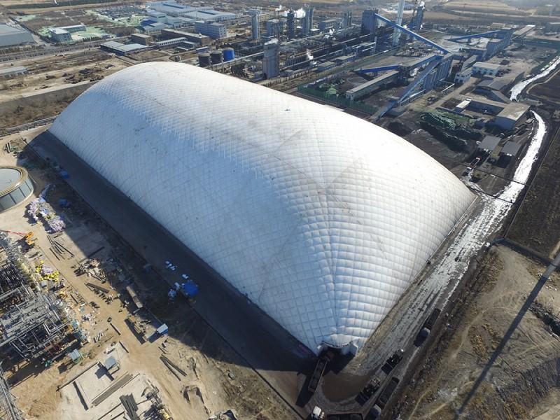 大跨度膜结构储煤棚-膜结构干煤棚-膜结构环保煤仓-膜结构煤棚
