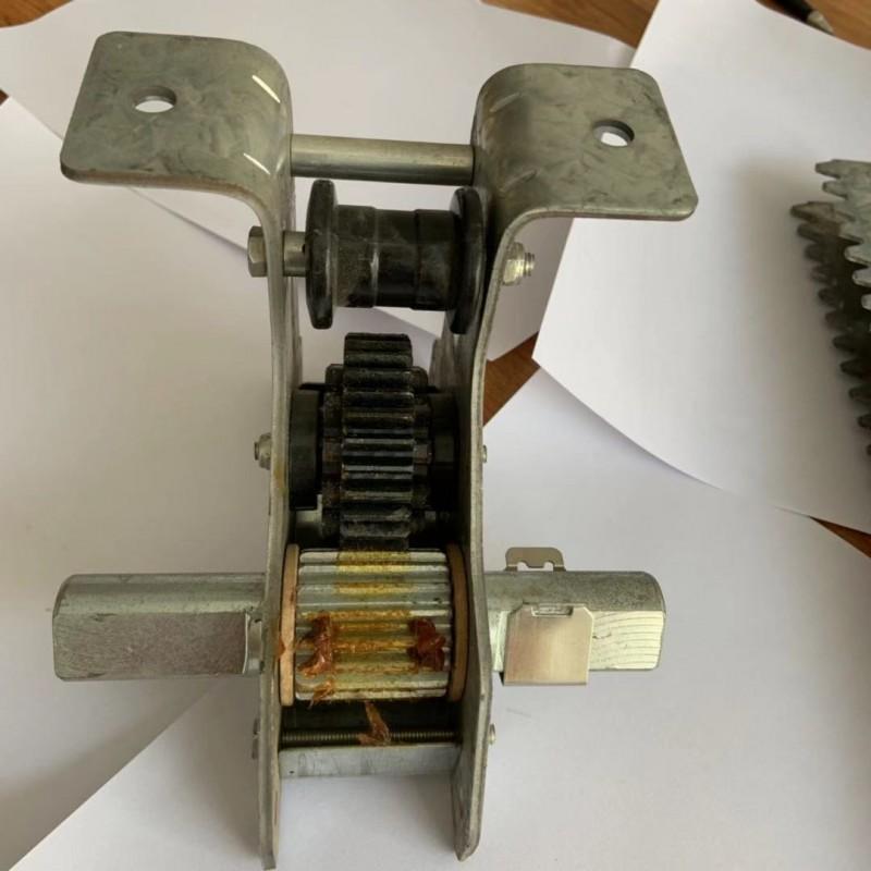 厂家直销温室大棚配件A型遮阳齿轮齿条